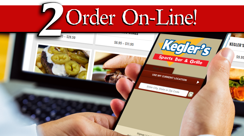 Order On-line for Take-Out